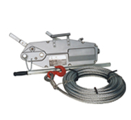 Wire rope lever hoist